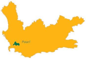 Paarl wijnstreek Zuid-Afrika